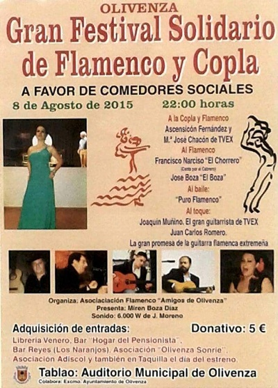 Flamenco Badajoz cartel