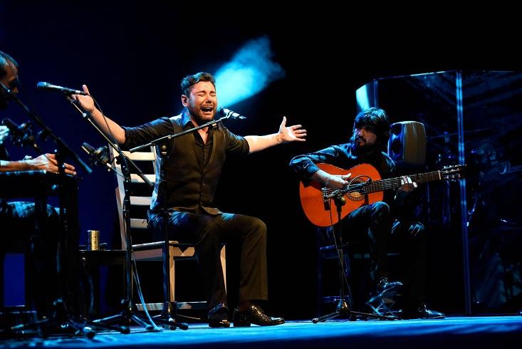 Se Esperaba Con Mucho Inters En Euskadi A Poveda Flamenco Y Coplista Que Viene Arrasando Por Todos Los Escenarios Un Torrente De Voz Pero