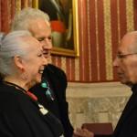 Cristina Hoyos y Salvador Távora, miembros de Honor de la Academia de las Artes Escénicas