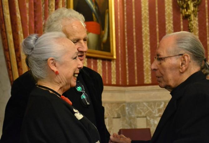 Cristina Hoyos y Salvador Távora