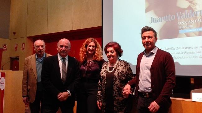 Presentacion Disco homenaje de Juanito Valderrama
