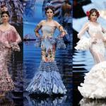 El último día de SIMOF 2017 arranca con la esencia y tradición del traje sevillano de Yolanda Moda Flamenca