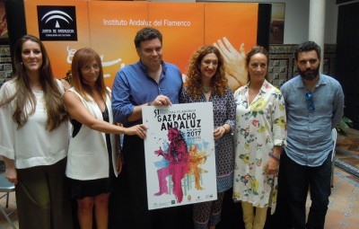 Festival Flamenco Gazpacho Andaluz Presentacion
