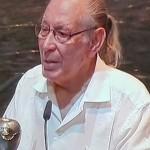Salvador Távora, uno de los encargados de trasladar el sentir de la XX Bienal de Sevilla