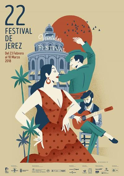 Festival de Jerez 2018 Cartel