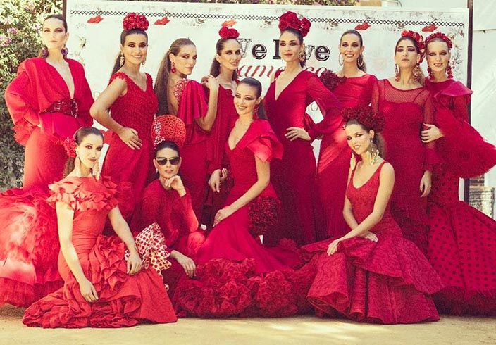 Revista La Flamenca We Love Flamenco 2018 llena de volantes el ... 898d79c0503