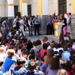 """Galardón de honor de los III Premios """"Flamenco en el Aula"""" para la Bienal de Sevilla"""