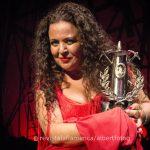 Maria Jose Carrasco se hace con la lámpara Minera en la 58º edición del Festival Internacional del Cante de las Minas