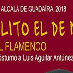 """Luis Aguilar """"El Piñonero"""" homenajeado en el Festival Flamenco Manolito el de María"""