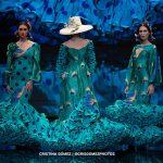 El viernes tarde de Simof deja clara la multitud de posibilidades del patrón del traje de flamenca