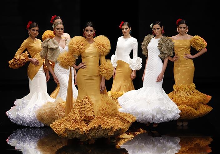 e19348b16 Simof 2019 cierra poniendo en valor la labor artesanal y la exclusividad  del traje de flamenca