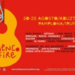 Programación: Flamenco On Fire 2019 – VI Festival de Flamenco de Pamplona