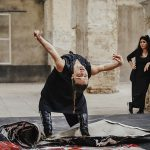 Rocío Molina baila la obra de Lita Cabellut que pondrá imagen a la próxima Bienal deFlamencode Sevilla