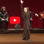 XXII Concurso Nacional de Arte Flamenco de  Córdoba. Florencia Oz, (premio de baile)
