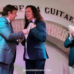 Tomatito y Julio Cuesta reciben la insignia de Oro de la Casa de la Guitarra de Sevilla