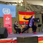 El flamenco llega por primera vez a las bases militares españolas en el Líbano