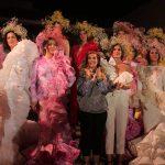 La moda flamenca de Juana Martín a favor de la investigación contra el cáncer