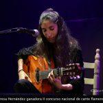 Reportaje: Teresa Hernández ganadora del II Concurso Nacional de Cante Flamenco Zamara Music