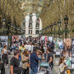 'Out Flamenco' la nueva exposición que se puede visitar en la calle Larios de Málaga